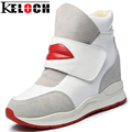 Keloch Casual Shoes Women Fashion Autumn Zapatillas Deportivas Mujer Woman Wedges Leisure Shoes Dames Schoenen Chaussure Femme