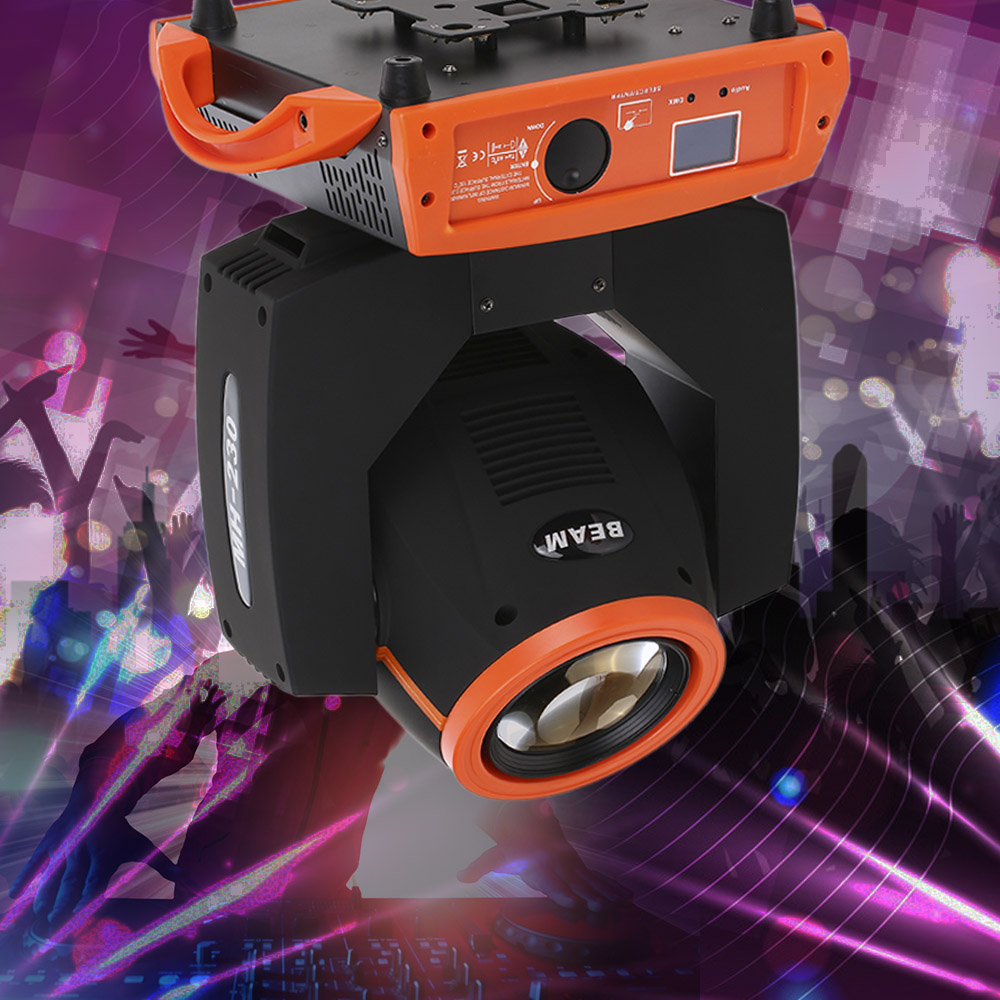 2017 Nouvelle Arrivée De Noël Stage Light Party Led Moving Head Disco Sound Light Bar Faisceau Couleur Musique DJ DMX512 Stade effet Lampe