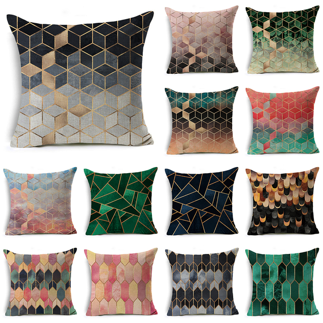 Decorativi Colorati Geometrica Nordic Fodere per Cuscini Cotone Della Boemia Cop