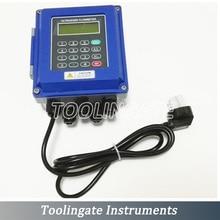 TUF-2000B TL-1 Sensor/DN300-6000mm PT-100 Heat transducer Ultrasonic liquid Flow Meter Flowmeters