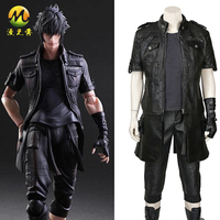 Top Quality Final Fantasy XV Noctis Lucis Caelum Cosplay Costume Noctis Lucis Caelum Costume For Halloween Adult Men Party FF15