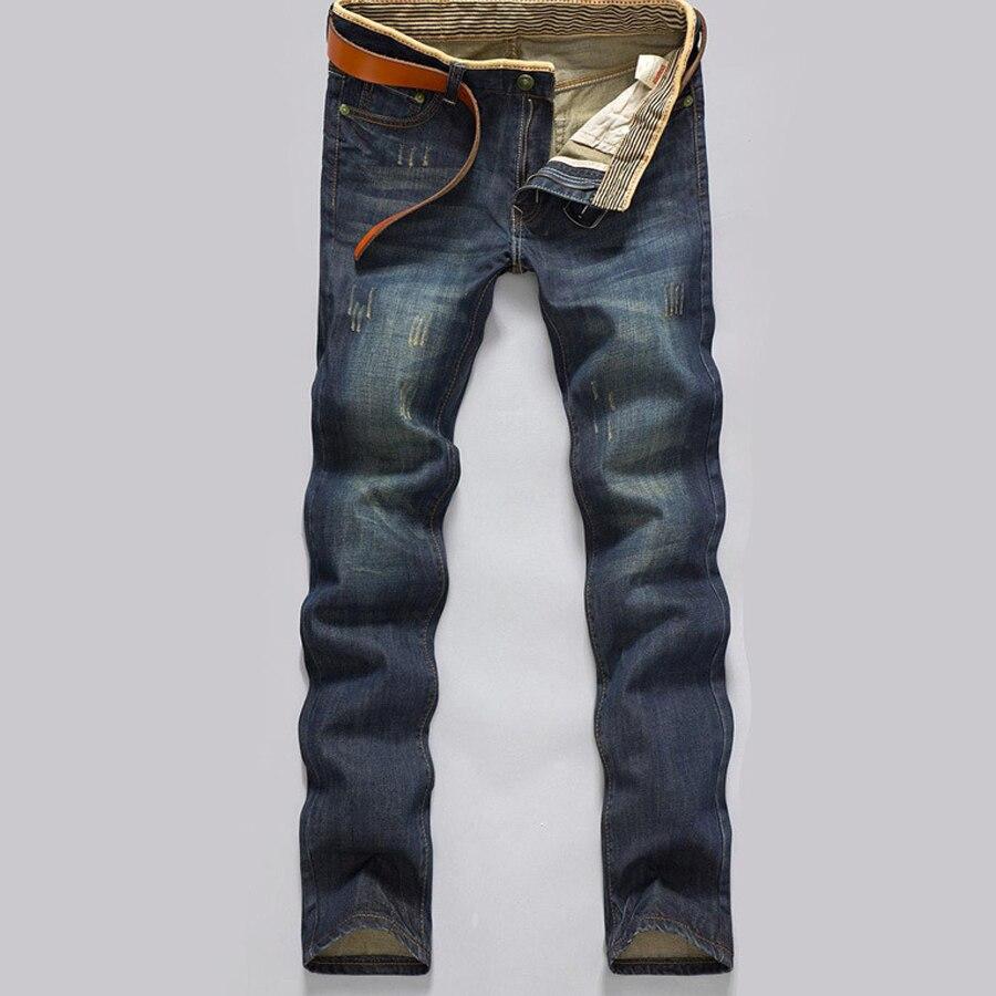 Bolsos Das Calças Jeans Causual dos homens Outono Inverno Quente Grosso Modern Hetero comprimento Caiu Roupas de Marca Sólida Fino Topos Populares quente