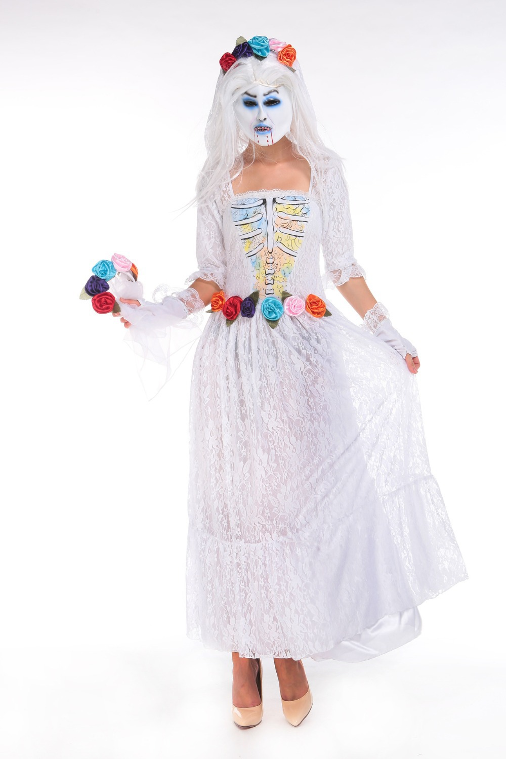princess bride dress up costume wedding dress halloween costume Childrens Dress Up Bride Costume Wedding Ideas