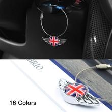 3D Metal Car Keychain Key Ring For Mini Cooper S one JCW Clubman Countryman Paceman R56 R55 R60 R61 F55 F56 F54 F60