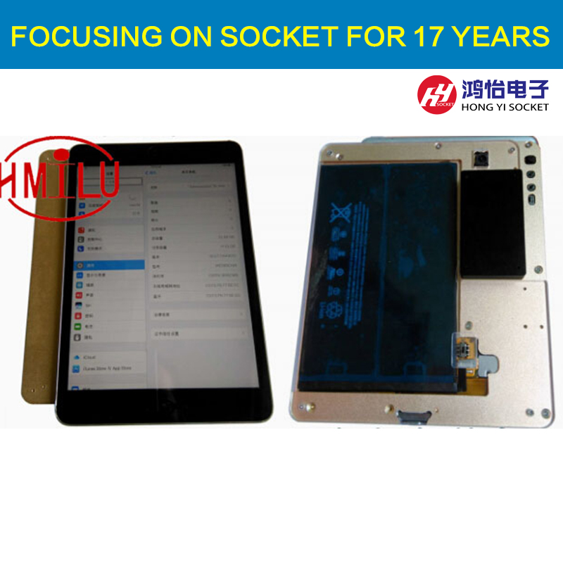 IPAD mini2 HDD disk NAND fixture repair tool for refresh the system NAND and re-write SN data recovery with directly assembly iphone nand test fixture 64bit 5s 6 6plus ipad mini 2 3 4 nand flash iphone repair hdd serial number sn tool