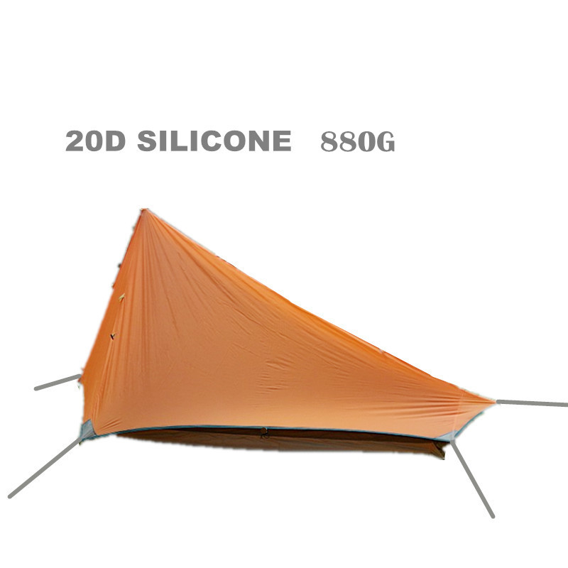 Ultralight 800G Double Layer 1-2 Person Potable Waterproof hiking Tent Shelter For Hunting  Fishing Camping Outdoor 20D silicone brand 1 2 person outdoor camping tent ultralight hiking fishing travel double layer couples tent aluminum rod lovers tent