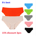 Real New Ultra-thin Women the best Seamless Traceless Sexy lingerie Underwear Panties Briefs plus Size EU