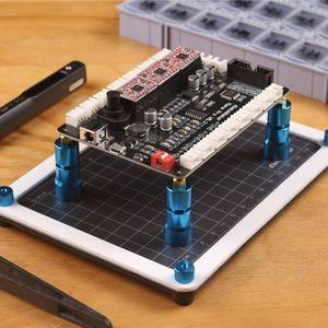 Image 3 - Soporte magnético para PCB, placa de circuito ajustable impreso, tornillo de banco, montaje de soldadura, abrazadera, pilares móviles