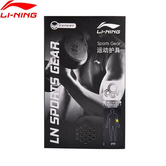 Li-Ning Unisex Training Series Elbow Pads Support 70% Chlorine Tincture Rubber 30% SBR LiNing Sports Gear AHJN002 ZYF248