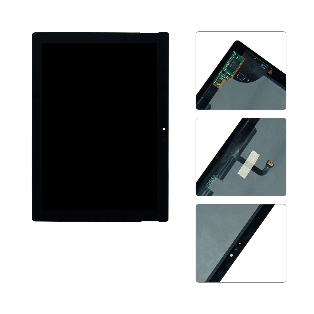 For Microsoft Surface Pro 3 1631 V1.1 LTL120QL01 003 LCD Display Touch Screen Digitizer Assembly Replacement new lcd display for microsoft surface pro 1 1514 lcd assembly touch screen digitizer