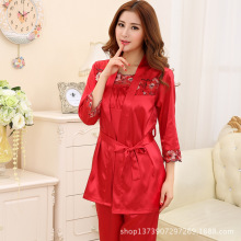 New Arrival Women Pajama Sets Cute Candy Solid Color Print Sexy Casual Homewear Sleepwear Wholesale