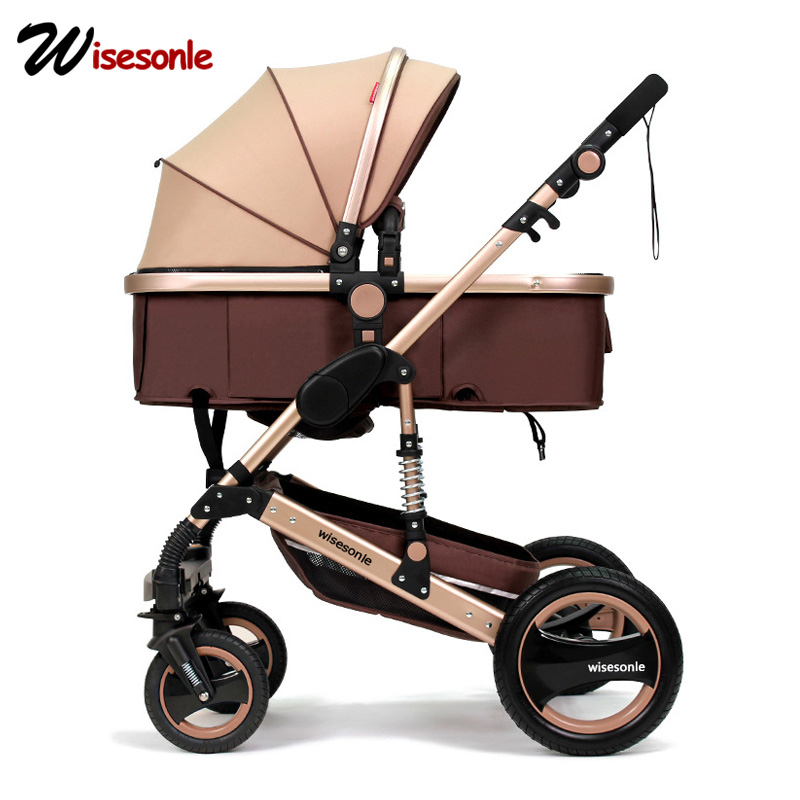 Wisesonle Baby Stroller Can Be Folded 2in1 And 3in1 Free To Send To Multiple Countries