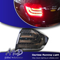 One-Stop Shopping Styling for Toyota Highlander Tail Lights 2012 Highlander LED Tail Light LED Rear Lamp DRL+Brake+Park+Signal