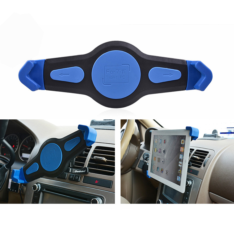 Fit 7 8 9 10 11 Inch Car Air Vent Tablet PC Pad Holder Stand Support For iPad 2 3 4 5 Mini Air Sam Tablet Nexus 7 VIA43 T18 0.4