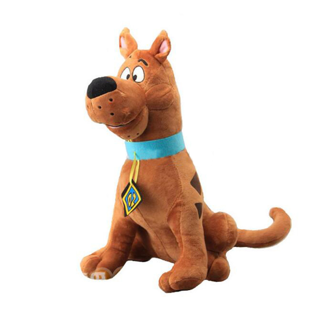 Scooby-Doo Large Scooby Doo Dog Plush Toy Stuffed Animals 35cm 14'' Kids Toys for Children Gifts image