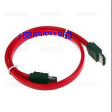 10pcs- 500pcs 3m Esata-esata Data Cable Hard Disk Box Socket With Shield Red Wire