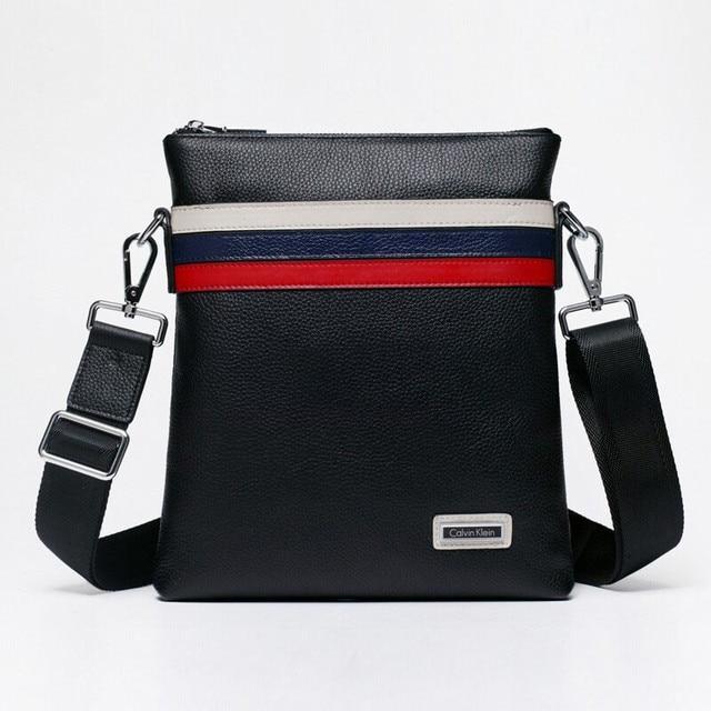 Aliexpress.com : Buy Free shipping men's leather messenger bag ...