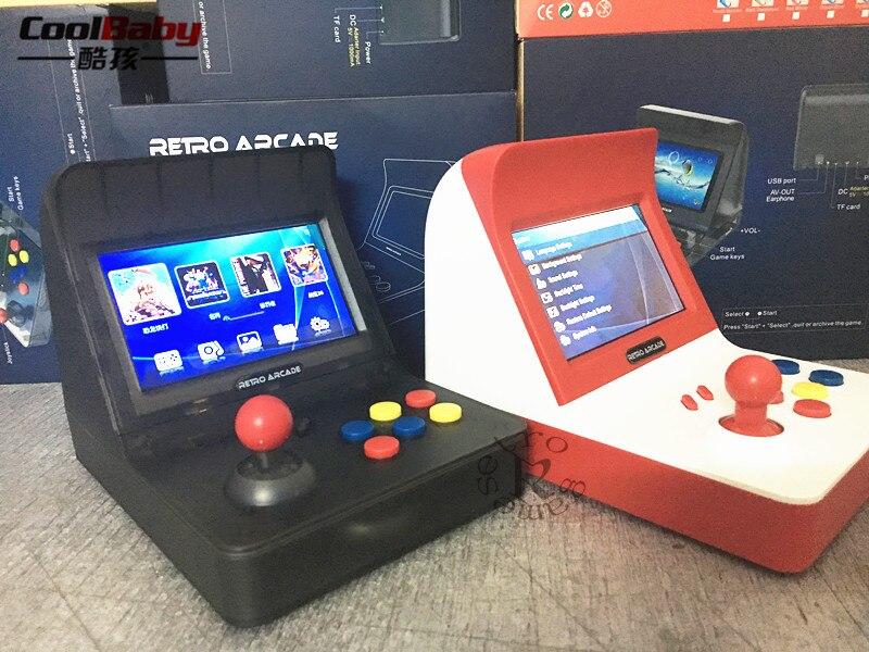 Nouveau Portable Rétro Mini-Jeu Portable Console 4.3 pouce 64bit 3000 Vidéo Jeux classique Famille Jeu Console Cadeau RÉTRO ARCADE