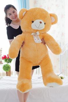 huge 140cm creative plush toy teddy bear plush toy soft doll hugging pillow Christmas gift b1585