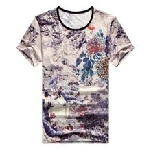Short Sleeve T Shirt Men 2020 Summer High Quality Tshirt Top Tees 3D Print Brand Fashion Clothes Plus Size M-5XL 6XL 7XL O NECK