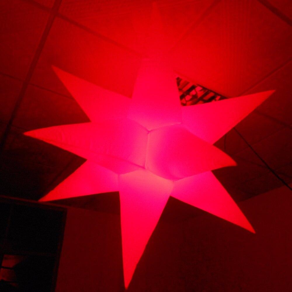 все цены на Stage and night club decoration Hanging lighting LED inflatablestar онлайн