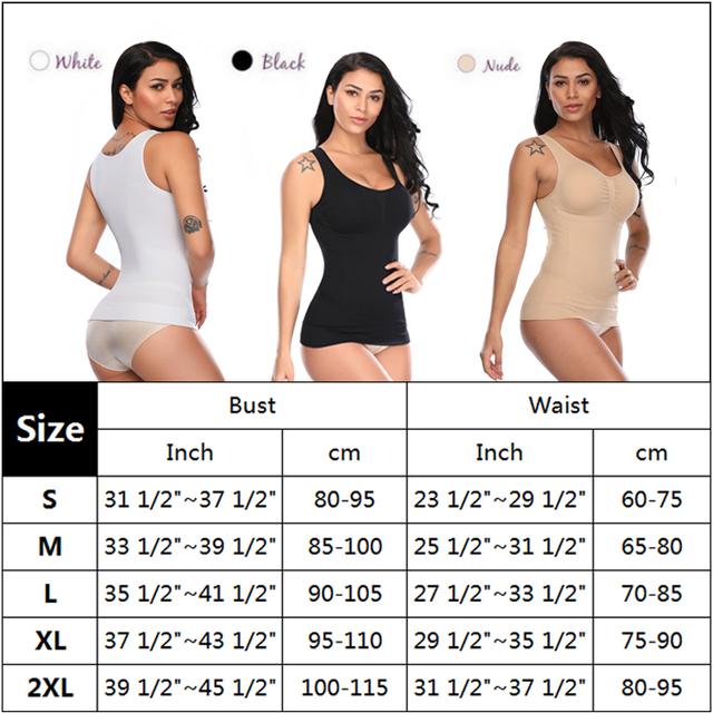 5 Zones Comfort & Compression in 3-in-1 Slimming Cami Shaper