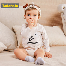 hot deal buy balabala baby 2-pack graphic bodysuits infant newborn baby girls boys 100% cotton cute cartoon bodysuits one-piece 2pc/lot