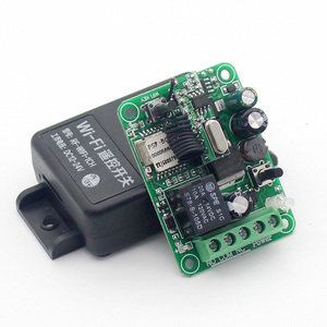 Image 5 - KTNNKG Wifi Remote Switch Wireless Remote Relay Receiver 1CH DC 12V 24V 36V 10A  433Mhz APP Voice Control For Electronic Lock