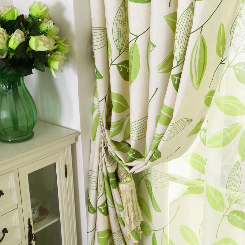 [byetee] Medvilnės drobė Modernus užuolaidų kambario užuolaidų - Namų tekstilė - Nuotrauka 3