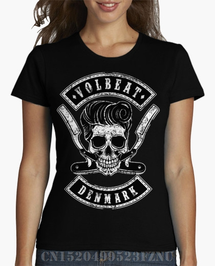 2018 Spring Favourite womens t shirt Volbeat Short Fashion Cotton funny tees girl Clothing