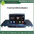Atualizados Original Car Radio Player para Mazda 3 Player De Vídeo Do Carro construído em WiFi GPS de Navegação Bluetooth com o dom gratuito 16G USB