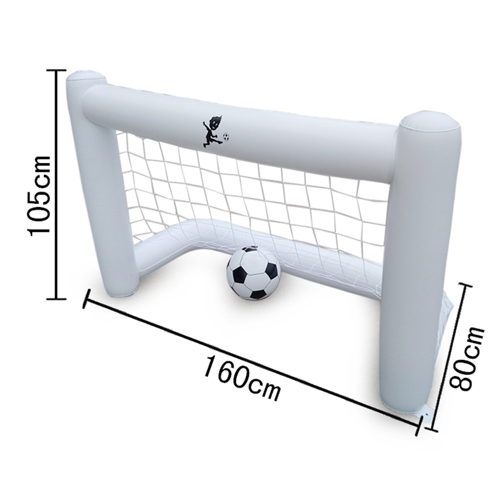 2019 New Inflatable Soccer Goal PVC Footable Net Parents Children Playing Ball Games
