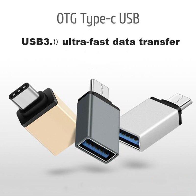 USB 3.0 Тип c OTG Кабель-адаптер для Huawei Xiaomi 5 4c MacBook Nexus 6 P Тип-C usb -C OTG конвертер для всех Тип-C Телефон