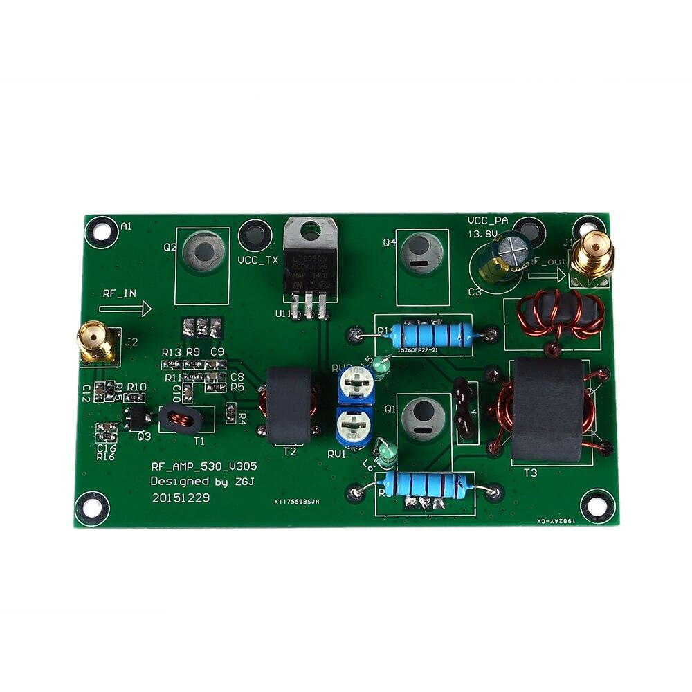 45W SSB AM Linear Power Amplificateur CW FM Power Amplifier HF Radio Transceiver Shortwave DIY Kit Signal Amplification 2018 new 10 watt hf sdr transceiver rx 1 8 30mhz tx all ham hf bands full modes ssb j3e cw am rx only sam fm free dv