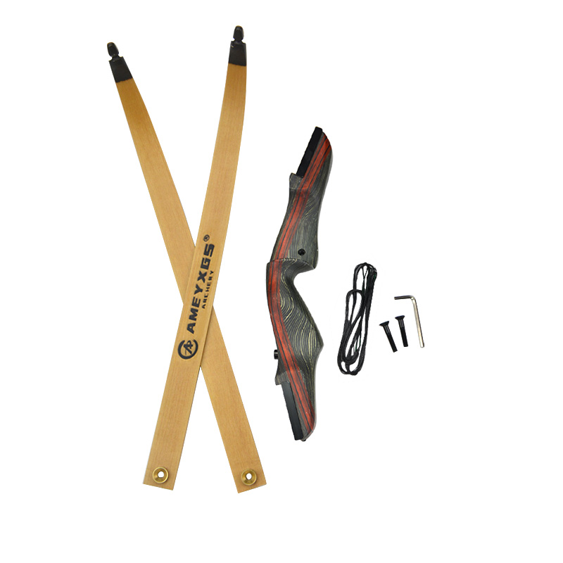 Image 2 - 1Set 62inch Archery Recurve Bow With Stabilizer 25 50lbs Draw Weight Right Hand Longbow Hunting Bow Shooting Hunting Accessories-in Bow & Arrow from Sports & Entertainment