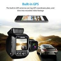 Wonvon Dual Lens Car Dash Camera 1080P 30FPS GPS WiFi Car Dash Cam DVR Video Recorder NT96660 For Taxi Lyft Dash 2 Cameras