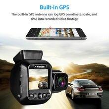 Wonvon Dual Lens Car Dash Camera 1080P 30FPS GPS WiFi Car Dash Cam DVR Video Recorder NT96660 For Taxi Lyft Dash 2 Cameras garmin dash cam 45