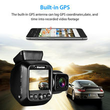 Wonvon Dual Lens Car Dash Camera Mini DVRs 1080P 30FPS GPS WiFi Cam NT96660 Video Recorder for Uber Lyft Truck Taxi