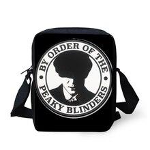 Купить с кэшбэком Casual Zipper Men Shoulder Bag Peaky Blinder Design Crossbody for Male Small Handbag Messenger Fashion Travel Bags Bolsas Sac