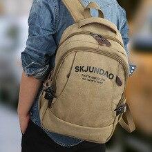 Brand Men s Teenage Backpacks for Girls Fashion Women Laptop Backpacks Canvas Student School Bags Male