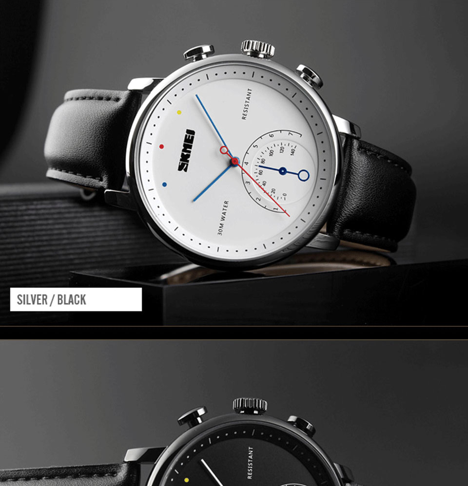 SKMEI 1399 Quartz Watch 6