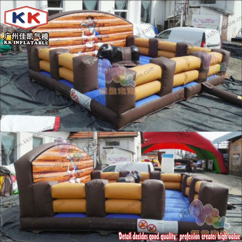Commercial Inflatable Bull Riding Equipment Game