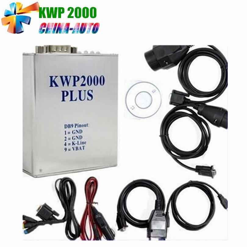 Date KWP 2000 Plus ECU Flasher OBD2 OBD II ECU Chip Tunning outil KWP2000 En Lecture et Écriture ÉCUS Pour Les Voitures Multi-marques En Stock