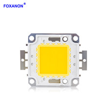 Foxanon 10W 20W 30W 50W 100W LED Beads Light DC12V-36V Matrix COB Integrated LED Lamp Chip SMD For DIY Floodlight Spotlight Bulb(China)