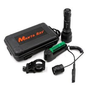 Image 1 - Jagd Taschenlampe Infrarot IR 850nm 940nm Zoomalbe Nachtsicht LED Taschenlampe + 18650 ladegerät Umfang fernschalter
