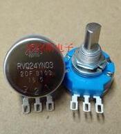 100% Original RVQ24YN03-20F B502 B103 Metade Eixo 2 w Conector Pote Para TOCOS Potenciômetro Filme De Carbono Rotativo x 10 pcs
