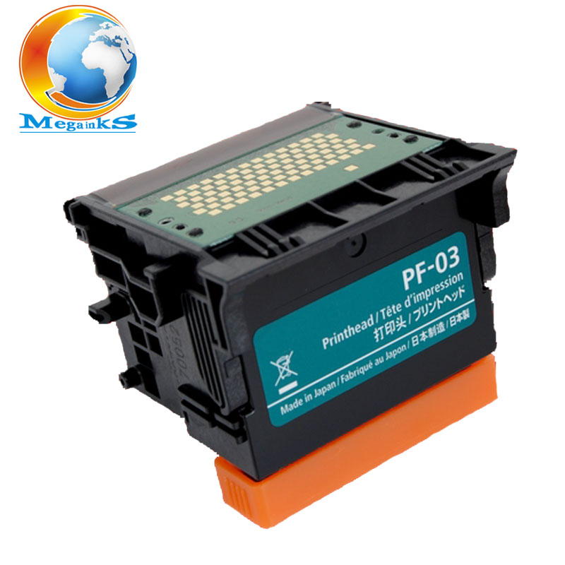PF-03 PF 03 Printhead For Canon IPF500 IPF510 IPF600 IPF605 IPF610 IPF700 IPF710 IPF720 IPF810 IPF815 IPF820 IPF825 Printer Head bulk ink system with refillable cartridge for canon ipf 500 510 600 610 700 710 605 for empty cartridge with permanent chip