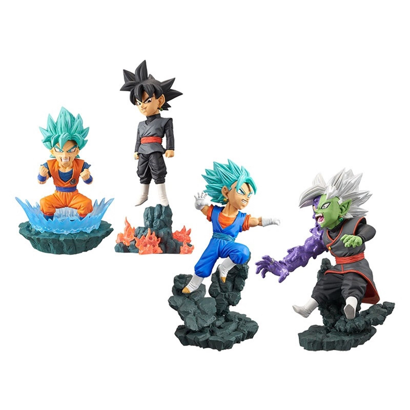 New Dragon Ball Super Z WCD World Collectable Diorama vol.1 Figure Full set 100% Original classic world конструктор super builder set