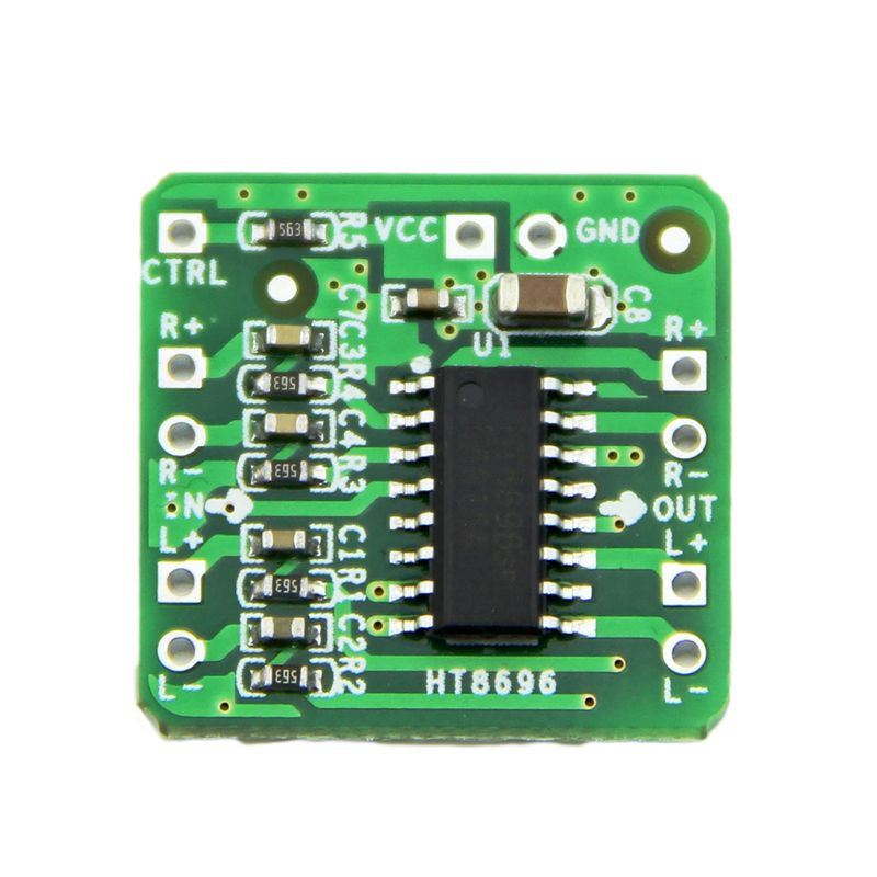 HT8696 Differential Amplifier Board 2x10W Digital Class D Audio Power AmplifierHT8696 Differential Amplifier Board 2x10W Digital Class D Audio Power Amplifier