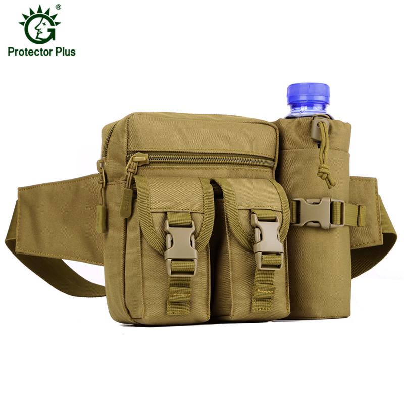 High Quality Waterproof Nylon Fanny Pack Men Outdoor Sport Waist Bags Tactical Military Army Chest Bag Bum Sac Pochete Man